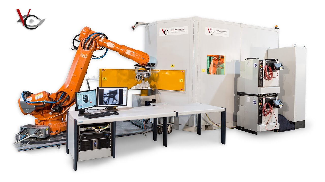 Xrhrobotstar Automated In Line X Ray Inspection Of