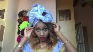 Tutorial Turbante Tradizionale Africano en BAZIN