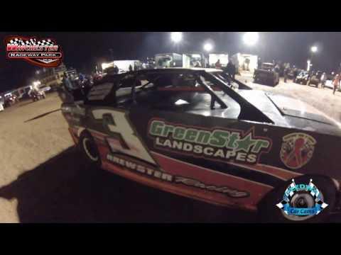 #3 Heath Brewster - Kajun Mini Stock - 2-18-17 Winchester Speedway - In-Car Camera