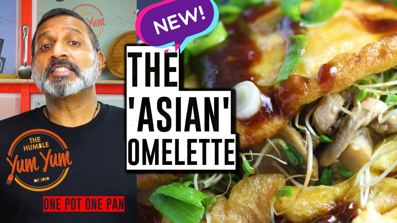 THE ASIAN OMELETTE! Feed 4 for under $20! ONE POT - ONE PAN