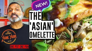The Asian Omelette | Yummy Online Recipe for Asian Omelets | Feed 4 Under $20 | One Pot - One Pan