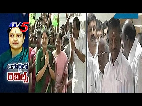 Sasikala Resort Politics : Madras HC Seeks Report from Police   TV5 News