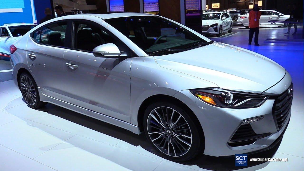 2018 Hyundai Elantra Sport Exterior And Interior Walkaround Detroit Auto Show