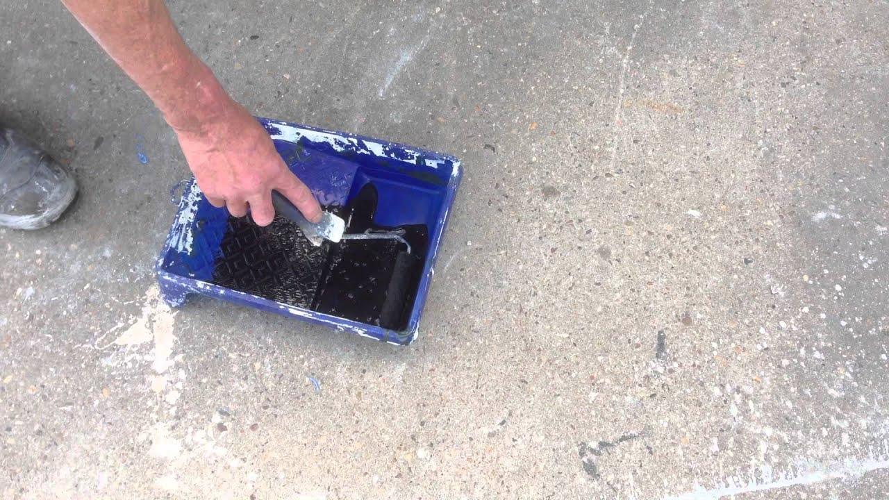 Natuursteen Tegels Impregneren : Impregneren van een met kalkuitslag vervuilde betontegel youtube