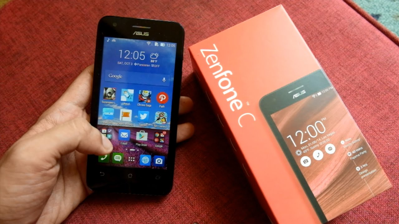 Unboxing Review ASUS Zenfone C Indonesia