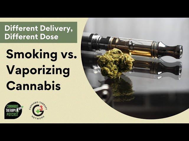 Smoking vs Vaping Cannabis: Pro and Cons