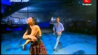 Танцуют все 3. Аня и Женя  - модерн