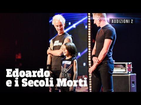 Edoardo, piccolo batterista punk rock
