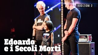 Edoardo, piccolo batterista punk rock
