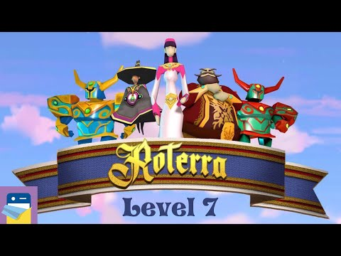 Roterra - Flip the Fairytale: Level 7 Walkthrough & iOS / Android Gameplay (by Dig-It Games)