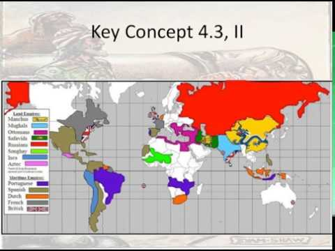 Period 4: Early Modern World (1450-1750) - Key Concept 4.3