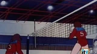 Mila e Shiro,due cuori nella pallavolo - Episodio n.38(1/2)