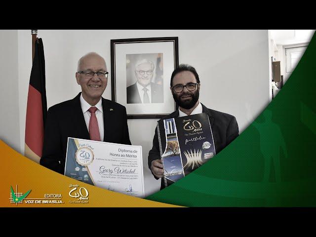 Entrevista com o Embaixador da Alemanha Georg Witschel | Jornalista Paulo Fayad
