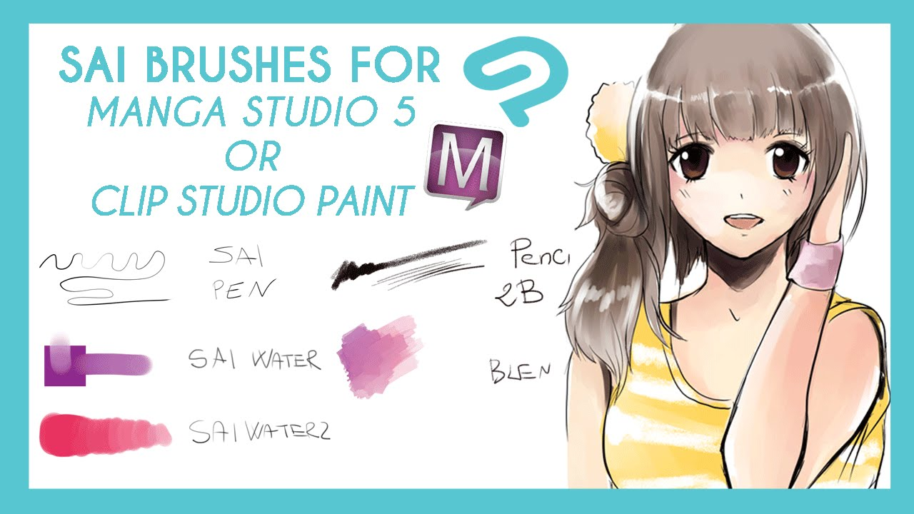 download clip studio paint brushes
