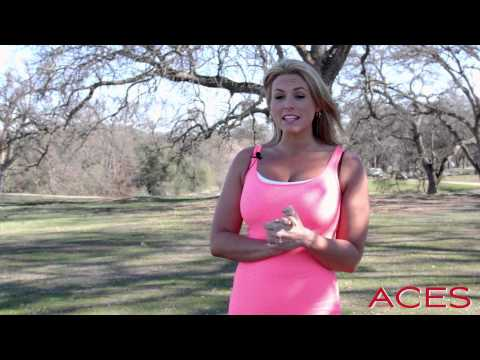 Wood Creek Cart Girl, Hillary Zeiter Visits Aces Golf Magazine