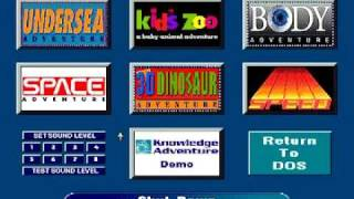Download The Packard Bell Knowledge Adventure MS-DOS Games