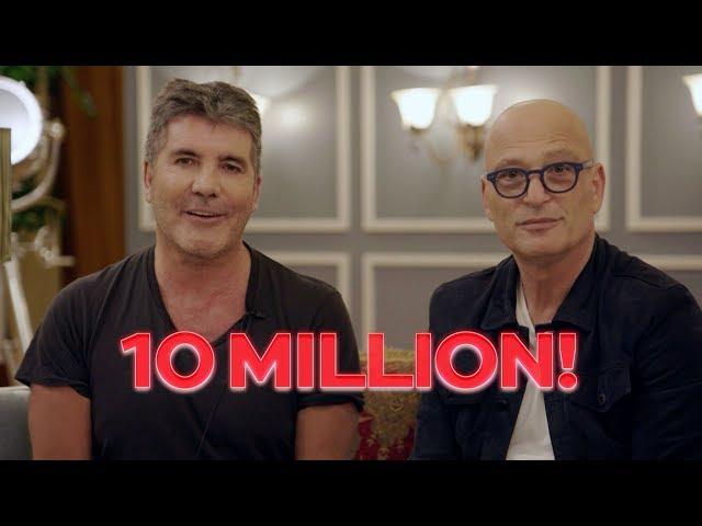 Massive Thanks From Simon Cowell And Howie Mandel! - America's Got Talent 2019