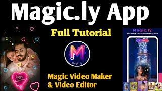Magic.ly - Magic Video Maker & Video Editor App tutorial screenshot 2