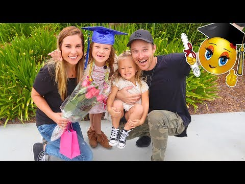 GRADUATED LAST DAY OF SCHOOL! 🎓 KINDERGARTEN SCHOOL SPECIAL
