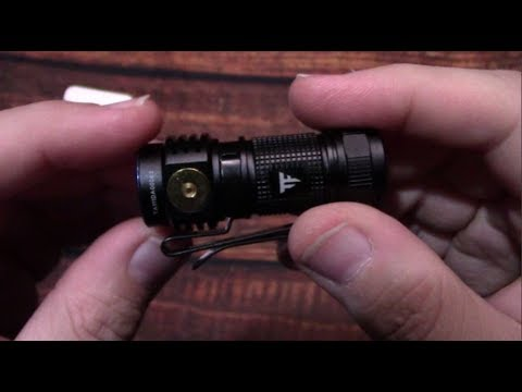 TrustFire MC1 EDC Flashlight Kit Review!