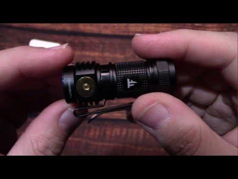 TrustFire MC1 EDC Flashlight Kit Review!