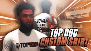 NBA 2K20 HOW TO MAKE TOP DOG SWEATSHIRT 🐶🔥