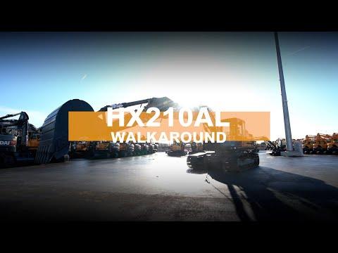 Video Pásové rypadlo HX 210 ANL