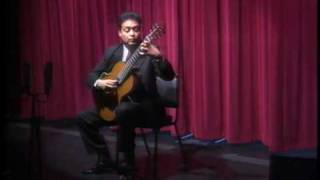 Variaciones sobre un Tema de Mozart by Sor, David Mozqueda, guitar
