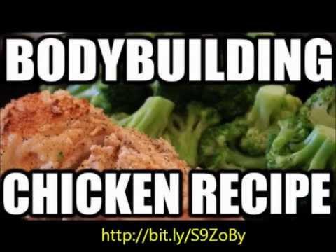 Bodybuilding cooking - Baked crispy chicken nuggets recipe