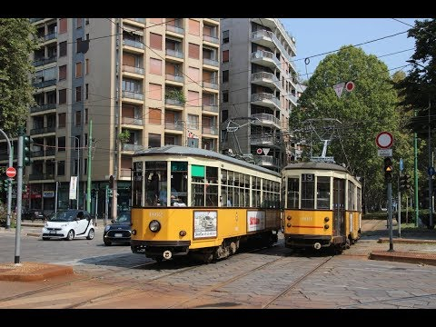 Trams and Trolleys of Milan, Italy. August/September 2018.