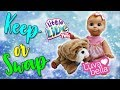 Keep or Swap Little Live Pets Rollie My Kissing Puppy vs Luvabella