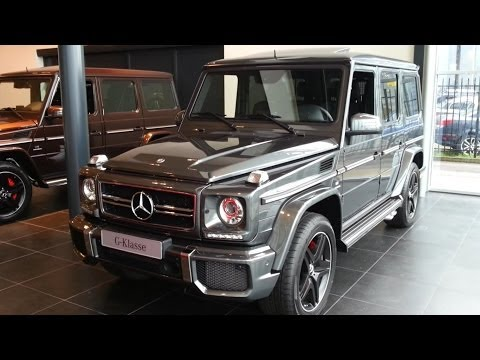 Mercedes-Benz G63 AMG 2015 In depth review Interior Exterior