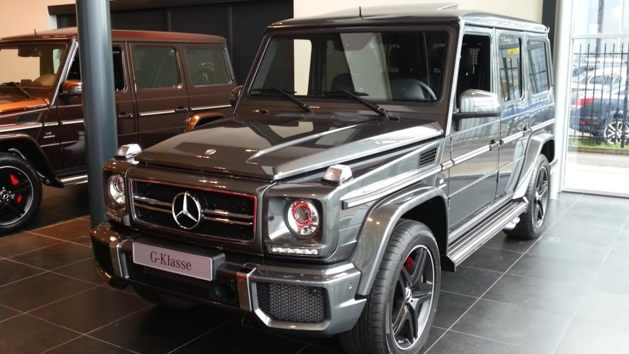 mercedes benz g63 amg 2015 in depth review interior exterior youtube - Mercedes G Interior 2015