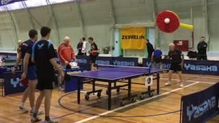 Ветераны - молодёжь настольный теннис
