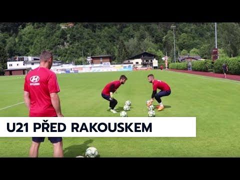 U21 před prvním zápasem proti Rakousku