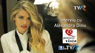 Interviu cu Alexandra Dinu, la Preţuieşte viaţa