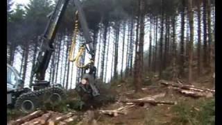 forestry harvester 10h logset