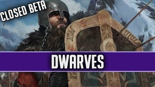 Blast from the Past - DWARVES!   GWENT CLOSED BETA MOD