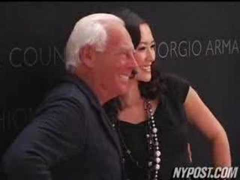 Fashion Honors Armani - New York Post