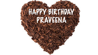 Praveena  Chocolate - Happy Birthday