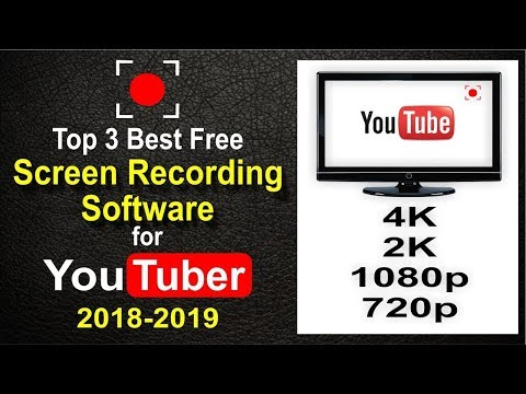 Top 3 screen recorder free download for pc 2019