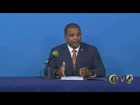 Minister of Education Diallo Rabain Press Conference, Nov 25 2020
