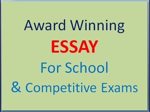 competitive education essay In this increasingly competitive world, companies find it more and more difficult to bring a competitive edge it is nowadays difficult for a customer x to differentiate a product or a service from another as it is true that all the brands have got lots of similarity infect, in such a situation.