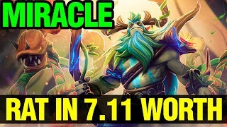 Rat Still Worth In 7.11 Patch - Miracle Nature Prophet Dota Plus - Dota 2