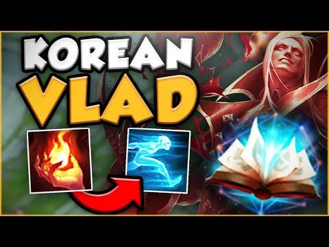 THIS NEW KOREAN VLAD IS ABSOUTELY GENIUS! NEW VLADIMIR TOP SEASON 8 GAMEPLAY! League of Legends