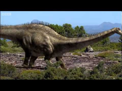 Dinosaur mating rituals | Walking with Dinosaurs in HQ | BBC