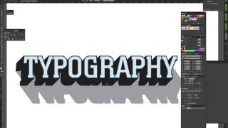 Tutorial: How to Make 3D Typography Templates in Adobe Illustrator
