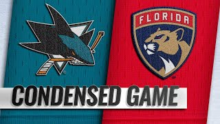 01/21/19 Condensed Game: Sharks @ Panthers