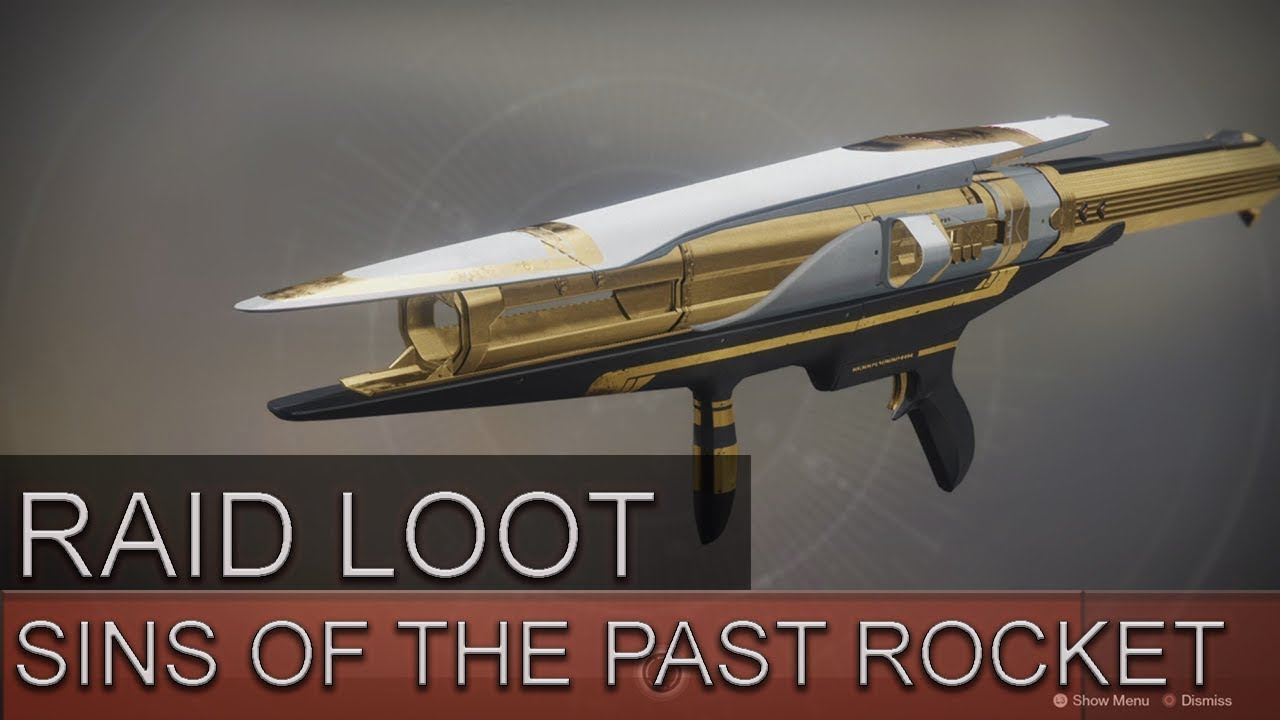 how to get sins of the past in destiny 2