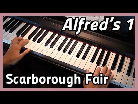 ♪ Scarborough Fair ♪ Piano  Alfreds 1